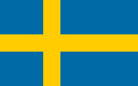 "Von Jon Harald Søby and others. All authors are listed in the ""File versions"" section below. - This flag is regulated by Swedish Law, Act 1970:498, which states that ""in commercial activities, the coats of arms, the flag or other official insignia of Sweden may not be used in a trademark or other insignia for products or services without proper authorization. This includes any mark or text referring to the Swedish government which thus can give the commercial mark a sign of official endorsement. This includes municipal coats of arms which are registered. Carl Wadenstierna"" http://www.notisum.se/rnp/sls/lag/19700498.HTM], Gemeinfrei, https://commons.wikimedia.org/w/index.php?curid=389852"